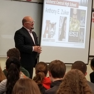 Anthony E. Zuiker speaks to ACHS students