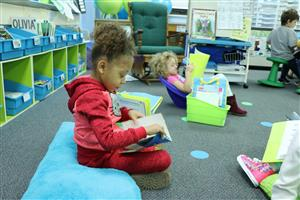 First grade flexible seating