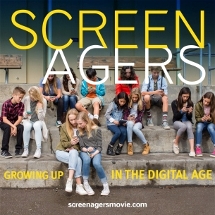 Poster of Screenagers documentary