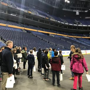 Students at Keybank Center