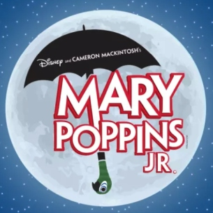 Mary Poppins musical logo image