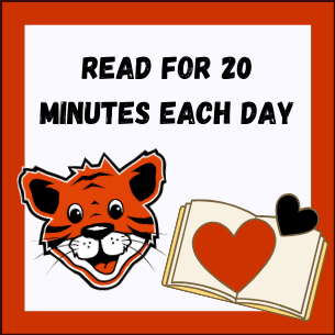 Read for 20 minutes each day