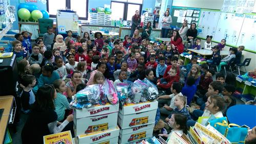 Compass House visits first graders