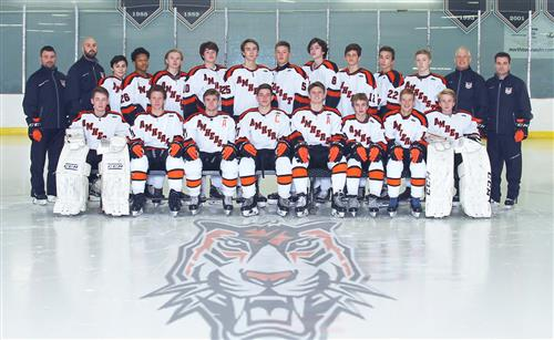 Boys varsity hockey team