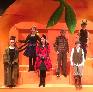 Cast of James and the Giant Peach