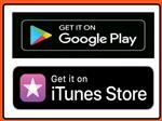 itunes and google play badges